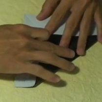 Pierścionek origami 7