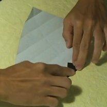 Pierścionek origami 8
