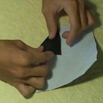 Pierścionek origami 9