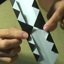 Pierścionek origami 12