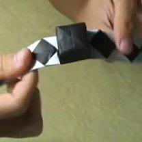 Pierścionek origami 21