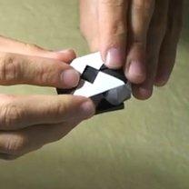 Pierścionek origami 23
