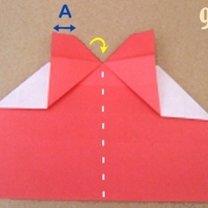 Robienie pierścionka origami 9
