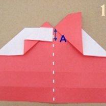 Robienie pierścionka origami 10