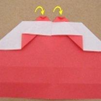 Robienie pierścionka origami 12