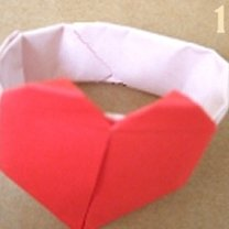 Robienie pierścionka origami 15
