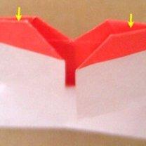 Robienie pierścionka origami 18