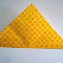 Robienie papierowej gwiazdy 2