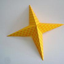 Robienie papierowej gwiazdy 9