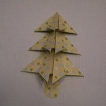 Kartka bożonarodzeniowa z choinką 8