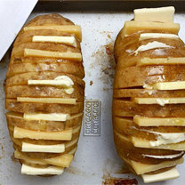 Pieczone ziemniaki z serem 6