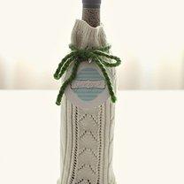 butelka zapakowana w sweter
