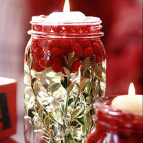 lampion bożonarodzeniowy ze słoika