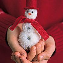Mikołaj z pomponów