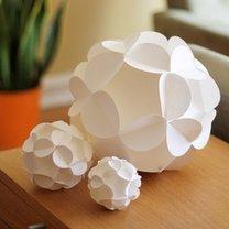 Kule z papieru 3d