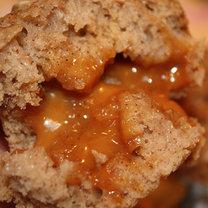 Muffinki z jabłkami i karmelem
