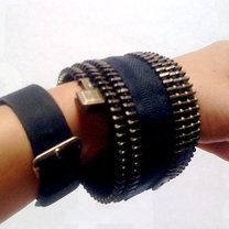 bransoletka z zamka błyskawicznego