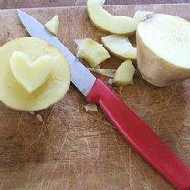 Stempel serce