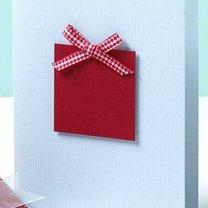 Kartka bożonarodzeniowa z prezentem