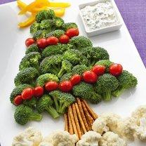Przekąska z warzyw na święta