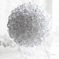 Bombka z kryształkami