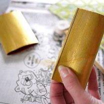 Ozdoby choinkowe z rolki po papierze 5