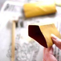 Ozdoby choinkowe z rolki po papierze 6