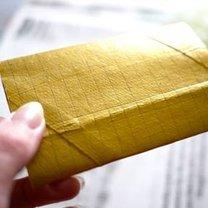 Ozdoby choinkowe z rolki po papierze 7