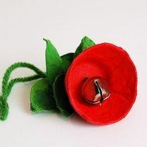 kwiatki na choinkę - krok 7