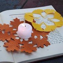 serwetki - liście z papieru
