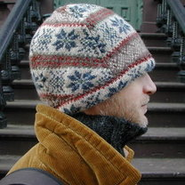 czapka ze swetra