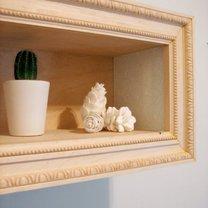 elegancka półka na ścianę
