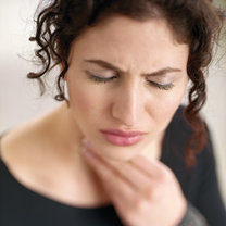 ból gardła, bolące gardło, leczenie gardła