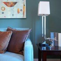 obraz na ścianę w odcieniach bieli  i pomarańczy