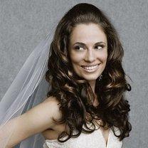 fryzura ślubna - włosy długie