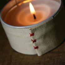 świeczka na walentynki - krok 2