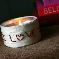 świeczka na walentynki - krok 4