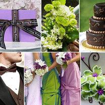 dekoracje weselne - lawenda i zieleń