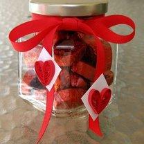 walentynkowy słoiczek na czekoladki