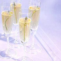 szampan z lawendą