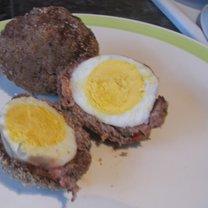 Jajka po szkocku Dukana