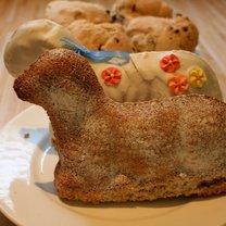 ciasto baranek wielkanocny