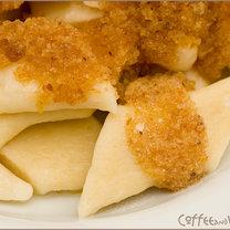 Pierogi leniwe z ziemniakami