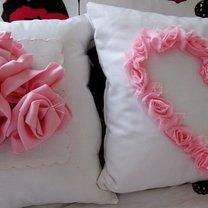 Poduszki walentynkowe