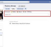 Zakładanie strony na Facebooku 5