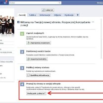 Zakładanie strony na Facebooku 8