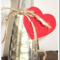 walentynkowy list w butelce