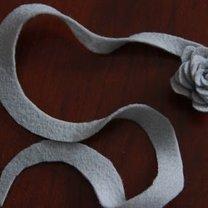 kwiaty z filcu - krok 13