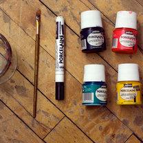 malowanie porcelany - krok 1
