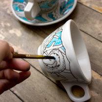 malowanie porcelany - krok 4